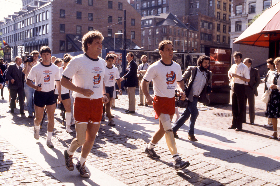 Ted Kennedy Jr in Run Jeff Run Jeff Keith039s run across America Boston MA