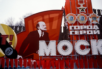 Parade Anniversary of the Russian Revolution Moscow