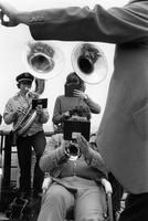 Tuba players Nantucket ferry