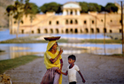 Scolding mother Jaipur India