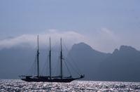 Sailboat Sardinia Italy